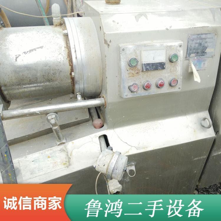 臥式砂磨機 低價轉讓二手50升涂料研磨盤式砂磨機 二手50升涂料研磨盤式砂磨機操作簡單易學