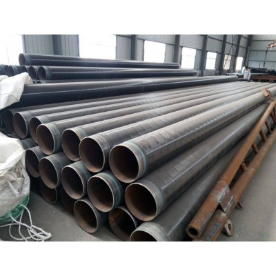 通化3pe防腐管线钢管 白山聚氨酯保温钢管 无缝管螺旋钢管厂家