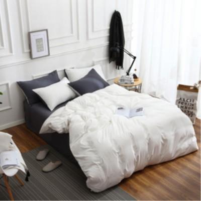 床上用品 加工定制北歐純色磨毛 各種中低檔次床上用品四件套