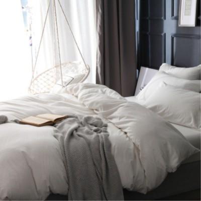 床上用品 工廠直銷 水洗全棉雙人被套 純棉單人被罩 學生宿舍床上用品