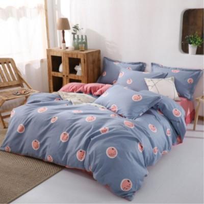 床上用品 A純棉B水晶絨珊瑚絨四件套 秋冬保暖床上法蘭絨法萊絨床單被套三件