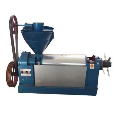 花生榨油机全自动智能商用冷热双用炸油机大型榨芝麻油机器
