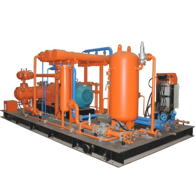 齊達康往復活塞式天然氣壓縮機適用于母站和標準站的天然氣壓縮機