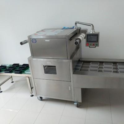 盒式气调包装机 谭鑫内酯豆腐盒式气调真空包装机