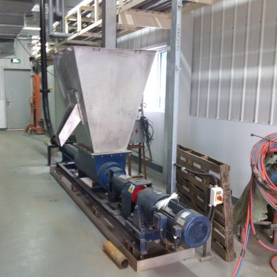 污泥处理设备 金陵湿污泥处理设备 储仓 输送机