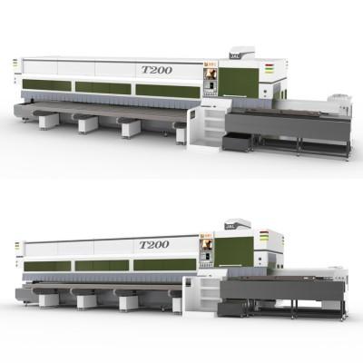 激光切管机 金澳兰T200B激光切管机标配半自动上料机