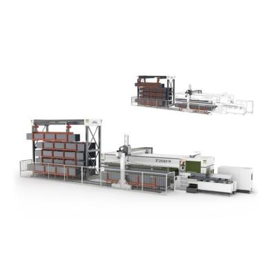 激光切管机 金澳兰W柔性加工系统 智能化加工生产