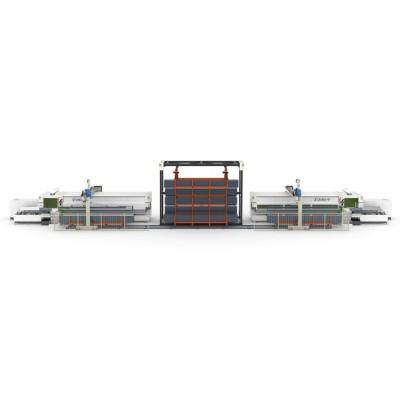 激光切管机 金澳兰W柔性加工系统 多机并联款