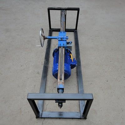 过路钻孔机器 台式水钻钻孔机 小型非开挖钻眼机