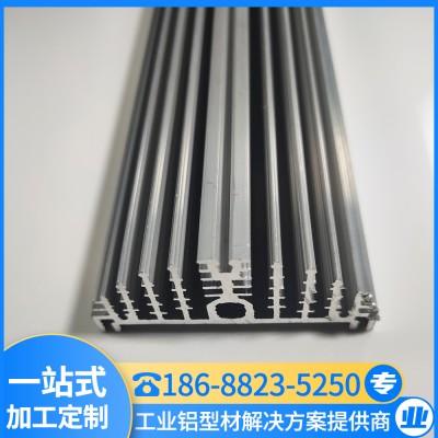 家装铝型材 高密齿散热器 LED散热器 汇冕铝业