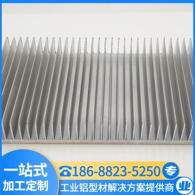 订制家装铝型材 高密齿散热器 模组散热片 汇冕铝业