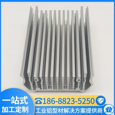 定做家装铝型材 高密齿散热器 模组散热片 汇冕铝业