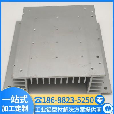 工业铝型材 高密齿散热器 LED散热器型材 汇冕铝业厂家批发