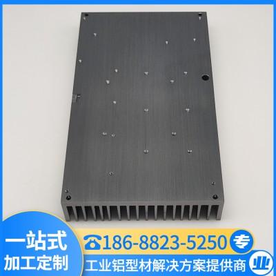 散热铝型材 高密齿散热器 LED散热器型材 汇冕铝业 厂家批发