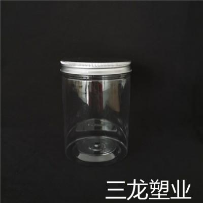 三龙厂家供货 透明花茶罐 塑料食品罐