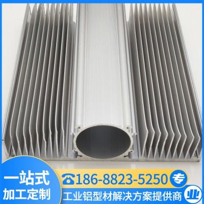 高密齿散热器 梳子散热器铝型材 工业铝型材 汇冕铝业