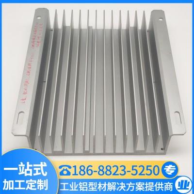 订制散热器铝型材 模组散热片 工业铝型材厂家 汇冕铝业