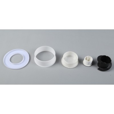 PPR注塑件 管材全塑接头 热熔活接配件  PVC塑料加工塑胶制品厂