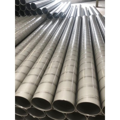 厂家长期定制出售螺旋风管排烟管 304不锈钢镀锌通风管圆形除尘消防排烟管