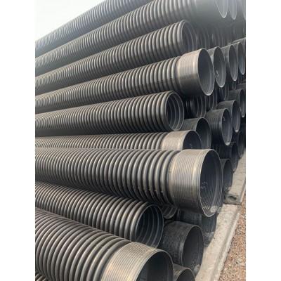甘肃兰州联塑HDPE塑料波纹管 排污管 聚乙烯波纹管厂家供应