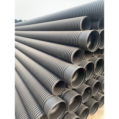 批发甘肃兰州联塑高密度聚乙烯波纹管 塑料PE波纹管