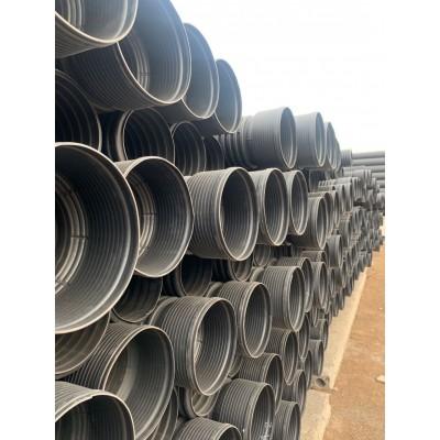 厂家直销 甘肃兰州联塑高密度聚乙烯波纹管 联塑PE塑料波纹管