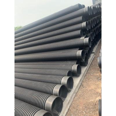 甘肃兰州联塑高密度聚乙烯HDPE双壁波纹管 联塑总代理