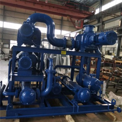 罗茨真空泵 华西JZJQY2500-4三叶罗茨真空泵机组