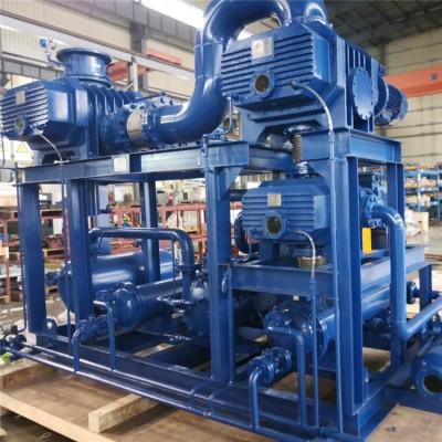 三叶罗茨真空泵机组JZJQY2500-4 环保真空泵机组