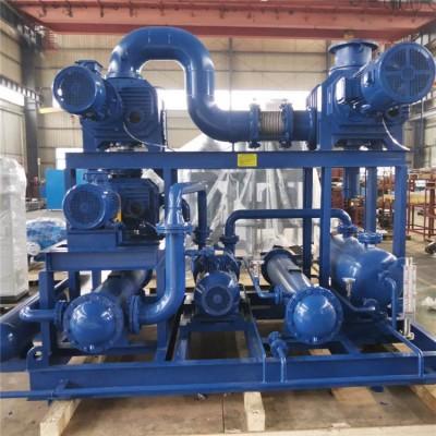 真空泵机组 三叶罗茨真空泵机组JZJQY2500-4 经久耐用
