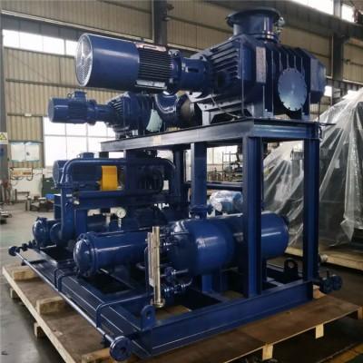 罗茨真空泵机组 石化用三叶罗茨真空泵机组JZJQY2500-4