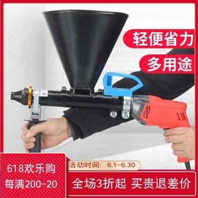 工具砂浆小型底油输送泵填缝防盗防火门树脂卧式注浆机