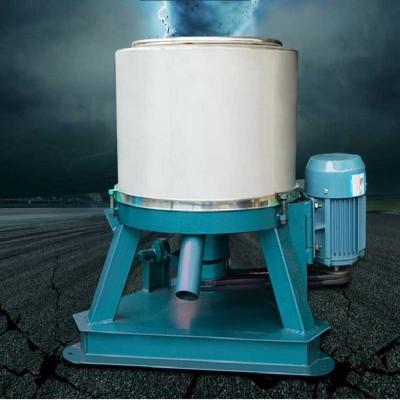 大型甩干桶人工下卸料制药单甩大功率学校铸铁架农用离心机