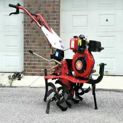 开沟新型自走家用75马力松土机全齿水田链轨式开荒微耕机