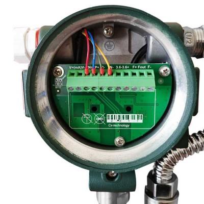 管道式液体高精度数显流量智能LUGB水流量表电子计智能表涡街计量表