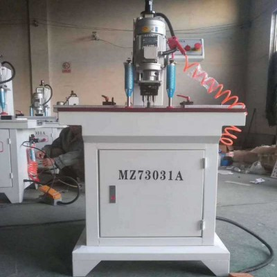 木工机械打合叶孔橱柜铝合金排钻多功能半自动三合一家具家具机械铰链机