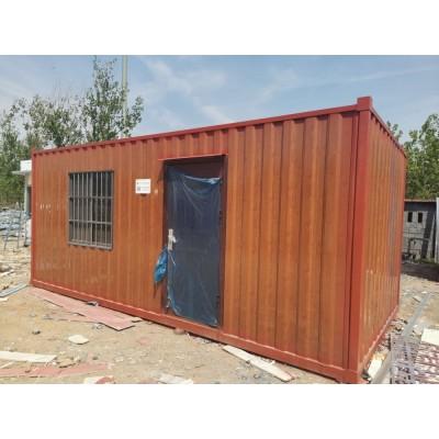 出售二手工地路桥住人集装箱活动房    批量出售二手集装箱板房宿舍价格