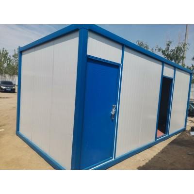 济南市区及周边集装箱宿舍带装修出租     租赁集装箱活动房办公室带空调床上门安装