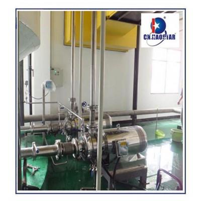 磨料泵 昊星JPW白炭黑打浆泵 研磨送料泵 钛白研磨泵 粉碎泵 中国温州胶体磨厂家
