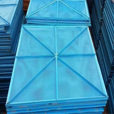 国固建筑爬架网厂家 米字爬架网镀锌金属建筑圆孔爬架网