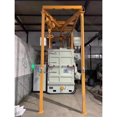 厂家直销Q378双吊钩抛丸机全自动喷砂除锈清理喷砂机可定制