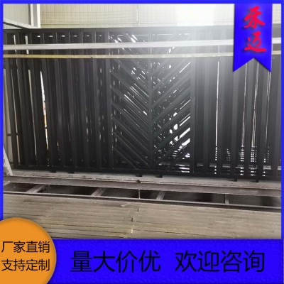 陕西水泥护栏 塑钢围墙护栏 白色防腐市政护栏