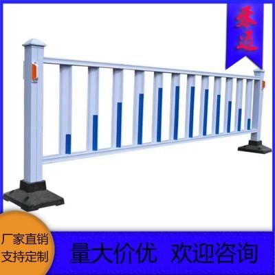 湖北道路护栏 白色防腐市政护栏 移动护栏