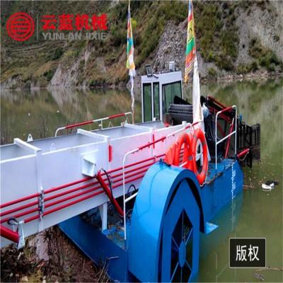 安徽水面垃圾打捞设备 水草收割船  水葫芦水浮莲收割打捞船