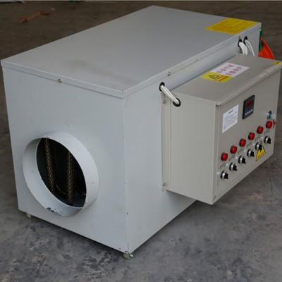 电暖风机 车间取暖风机  50千瓦电热风机厂家供应