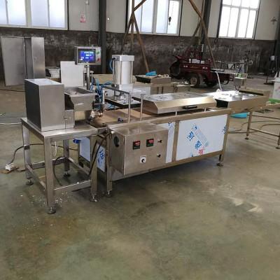 大型商用烙饼机  潍坊朝天锅压饼机  全自动烙饼机生产厂家