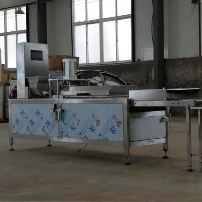 全自动压饼机价格  鸡肉卷压饼机  出售春饼机