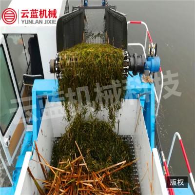 北京水草收割船  水上割草机械  水葫芦水浮莲收割打捞船