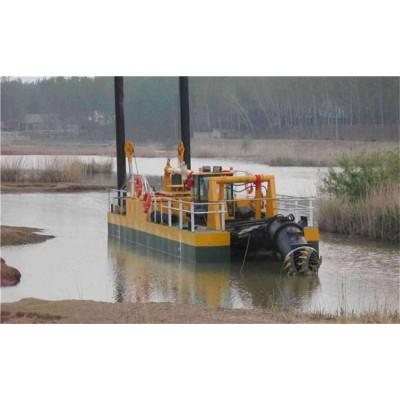 砂金设备出口-挖沙淘金船 河道淘金船 德弘环保