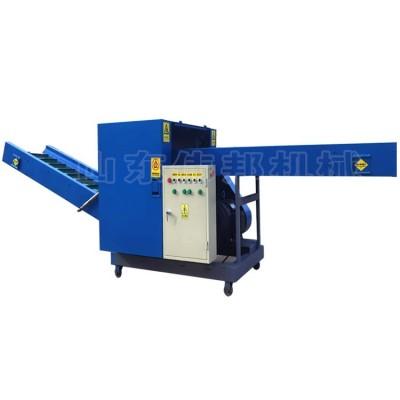 化纤丝切段机 工业丝切断机 纤维丝短切机 伟邦机械切料机